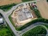 Großbaustelle bei Untergruppenbach (Logistikzentrum der Küchen Arena) an der A81 - August 2012
